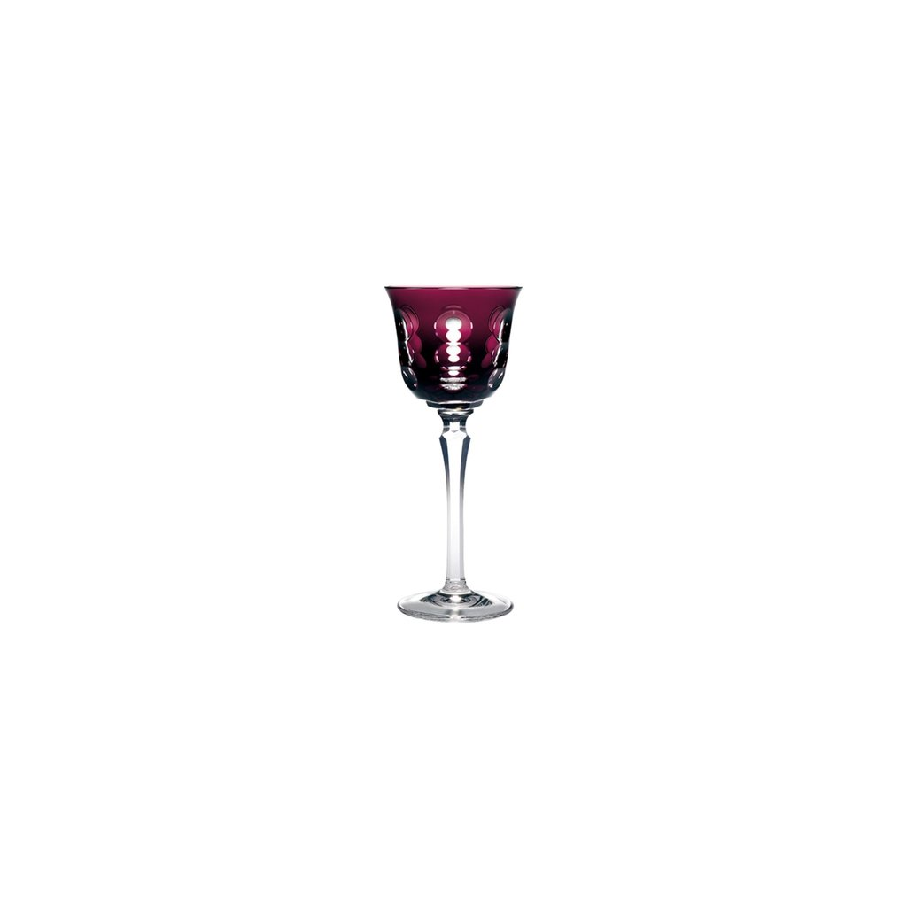 CHRISTOFLE Rhine Wine Glass Purple