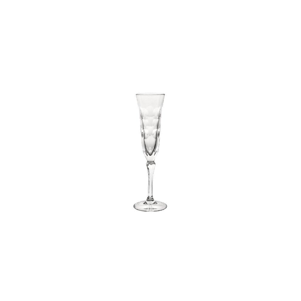 CHRISTOFLE Flute Glass Kawali Clear