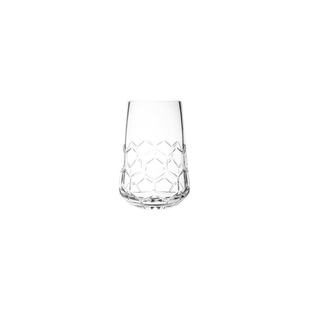 CHRISTOFLE Madison 6 Vase Petite En Cristal Chaque 7 1/2'' - 19 Cm