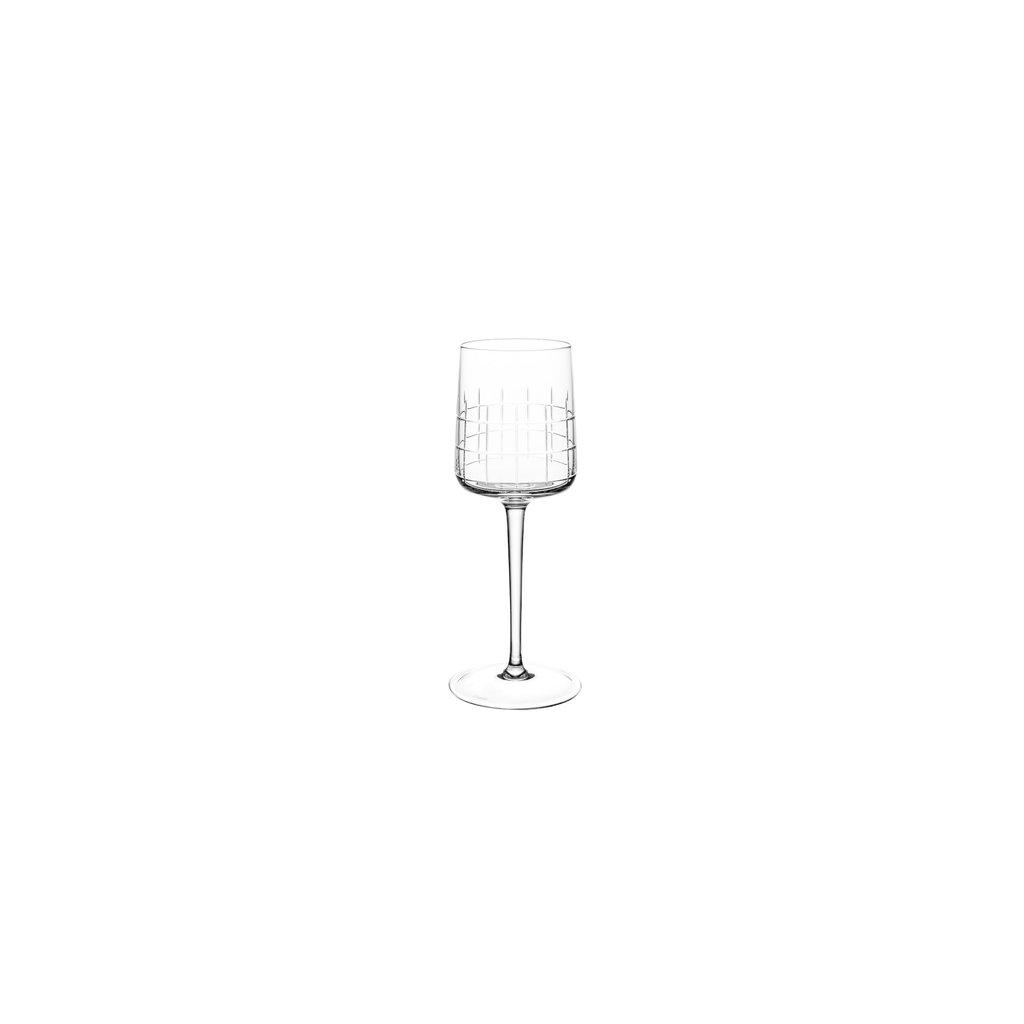 CHRISTOFLE Graphik Verre De Vin Rouge En Cristal Chaque 8 1/2'' - 6 1/2 Oz