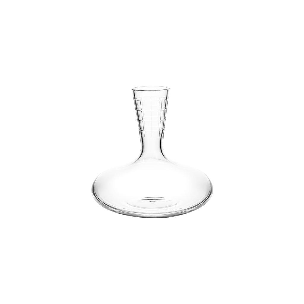 CHRISTOFLE Graphik Décanteur À Vin En Cristal Chaque 8 3/4'' - 25 1/3 Oz