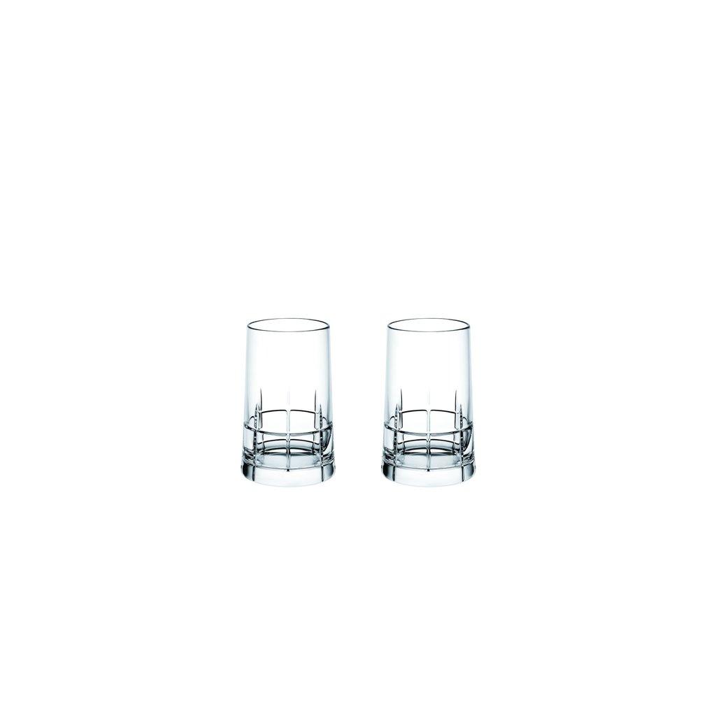CHRISTOFLE Graphik Coffret De 4 Verres À Vodka En Cristal 2 11/16'' - 1 Oz