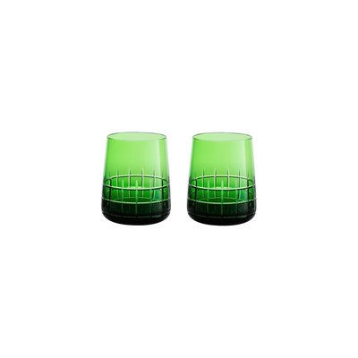 CHRISTOFLE Set 2 Gobelets Green Graphik