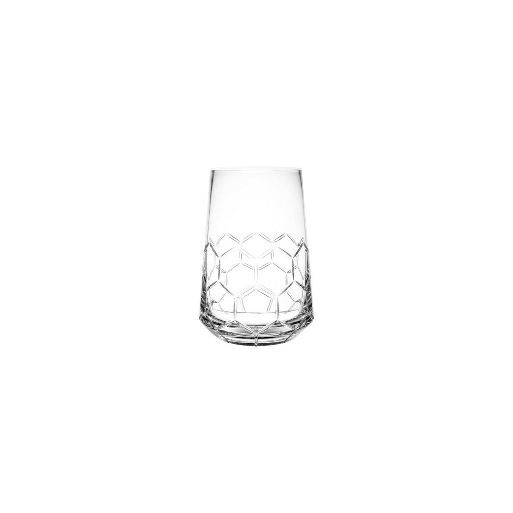 CHRISTOFLE Madison 6 Vase Moyenne En Cristal Chaque 10 5/8'' - 27 Cm