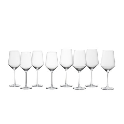 SCHOTT ZWIESEL Pure 8 Piece Wine Glass Set