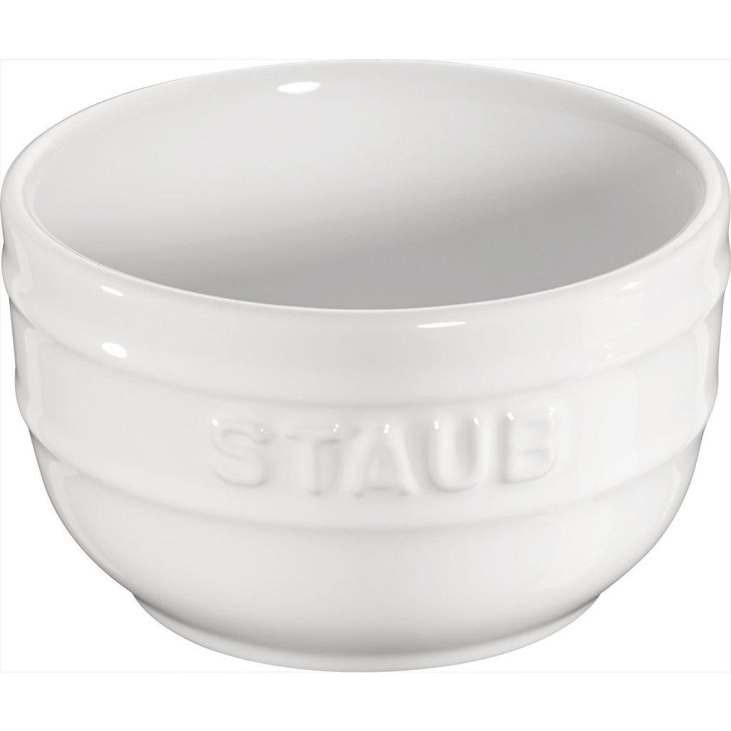 "STAUB Ceramic 2-Piece Ramekins 3.1"" White"