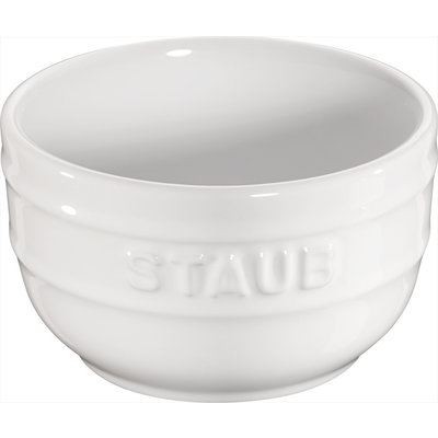 "STAUB Ceramic 2-Piece Ramekins 3.1"" Blanc"