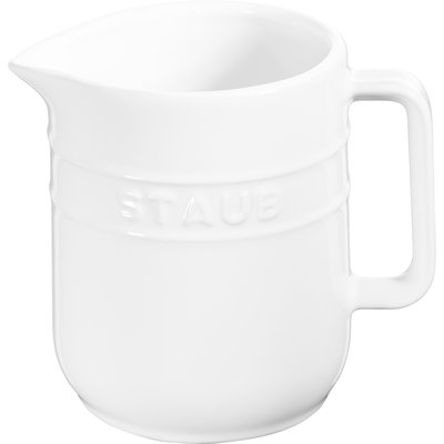STAUB Ceramic Creamer White