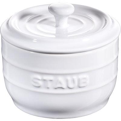 STAUB Ceramic 0.25L Salt Crock White