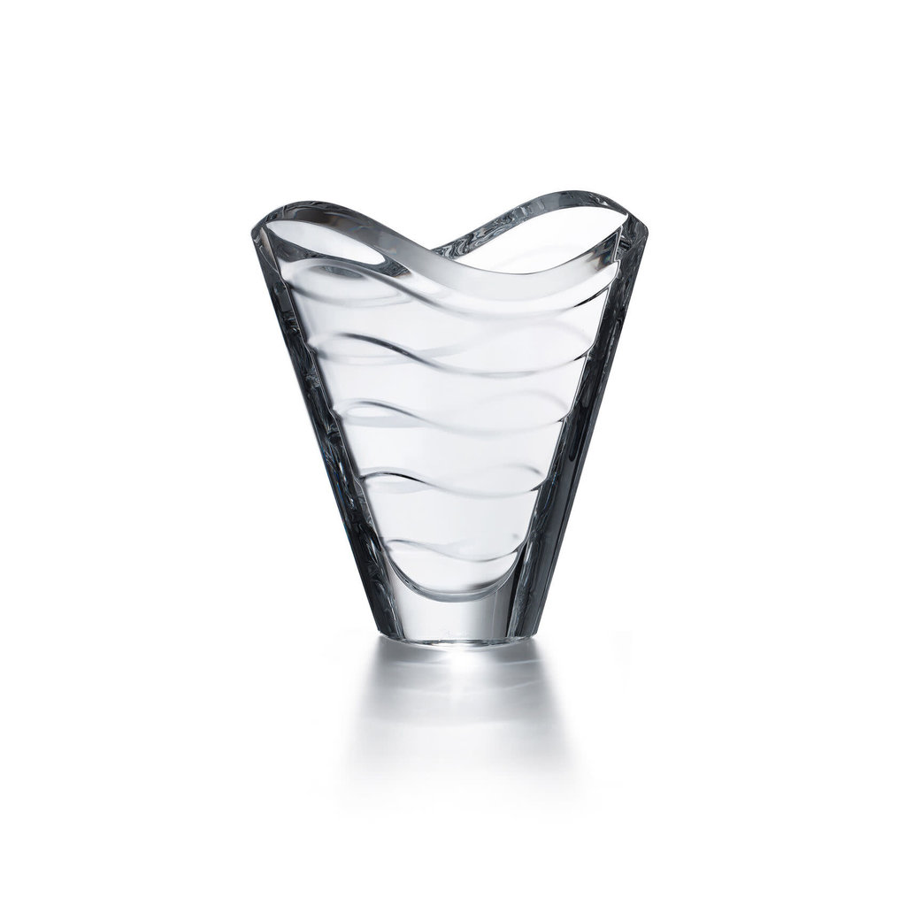 BACCARAT Wave Vase 230