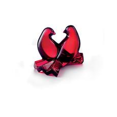BACCARAT Birds Loving Doves Red