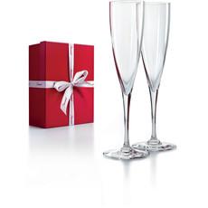 BACCARAT Dom Perignon Champagne Flute Set/2