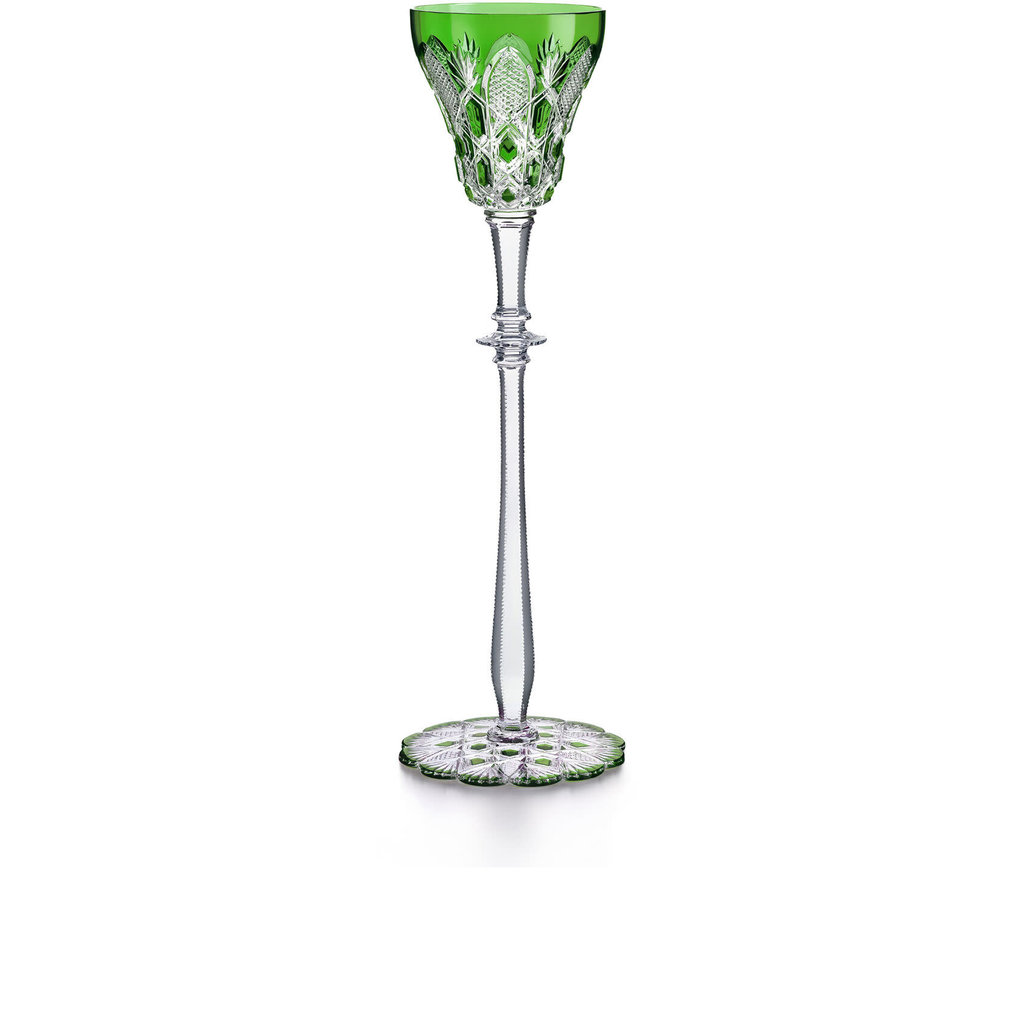 BACCARAT Tsar Glass 2 Green
