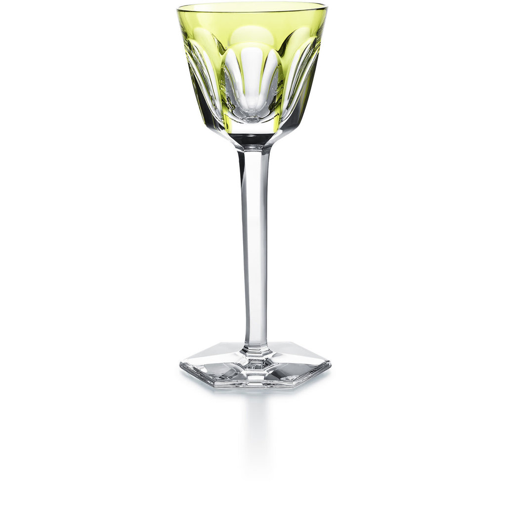 BACCARAT Harcourt Rhine Wine Light Green