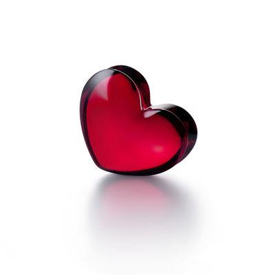 BACCARAT Zinzin Red Heart Figurine Large