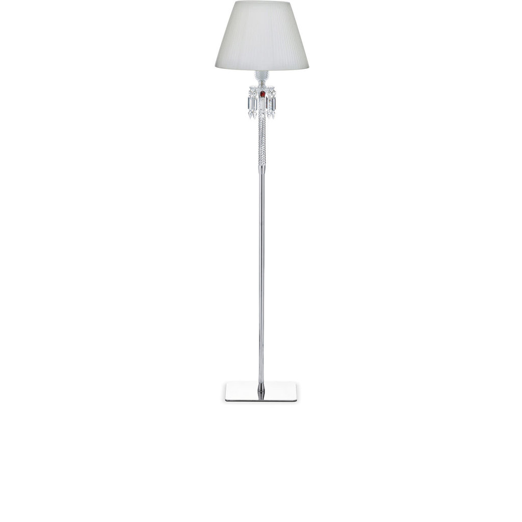 BACCARAT Torch Floor Lamp Ul 145 White Lampshade