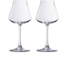 """BACCARAT Chateau Xl Glass Set/2 - 9.75"""" H - 26 1/2 Oz"""