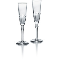 BACCARAT Harcourt Eve Champagne Flute X2