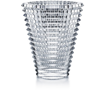 BACCARAT Eye Vase Oval 420