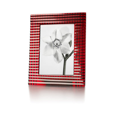 "BACCARAT Eye Photo Frame 5 X 7"" Red"