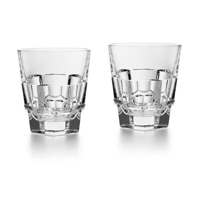 BACCARAT Harcourt Abysse Straight Tumbler X2