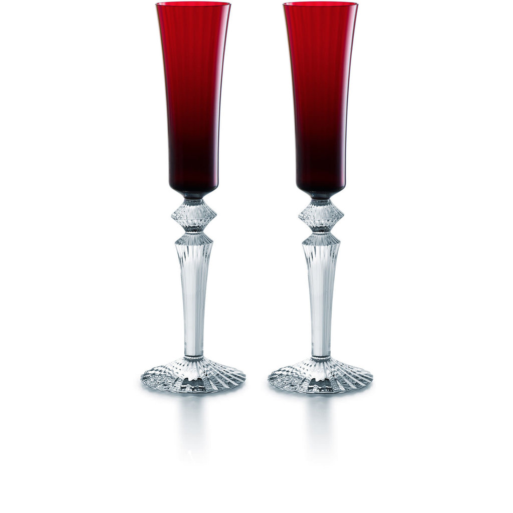 BACCARAT Mille Nuits Flutissimo Red X2