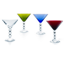 BACCARAT Vega Martini Colours Set X4