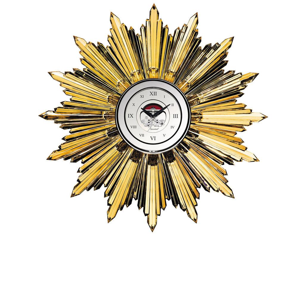 BACCARAT Heritage Horloge Soleil Or 50 Copies