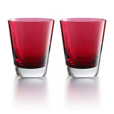 BACCARAT Mosaique Red Tumbler X2