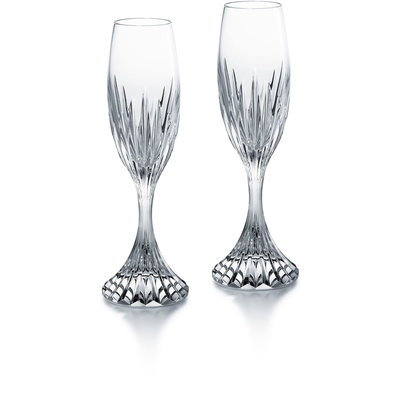 BACCARAT Massena Champagne Flute X2