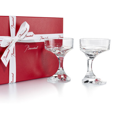 BACCARAT Narcisse Champagne Coupe X2