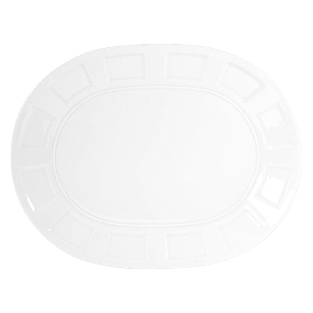 BERNARDAUD Naxos Oval Platter 15''
