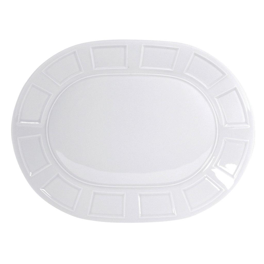 "BERNARDAUD Naxos Oval Platter - 13"""