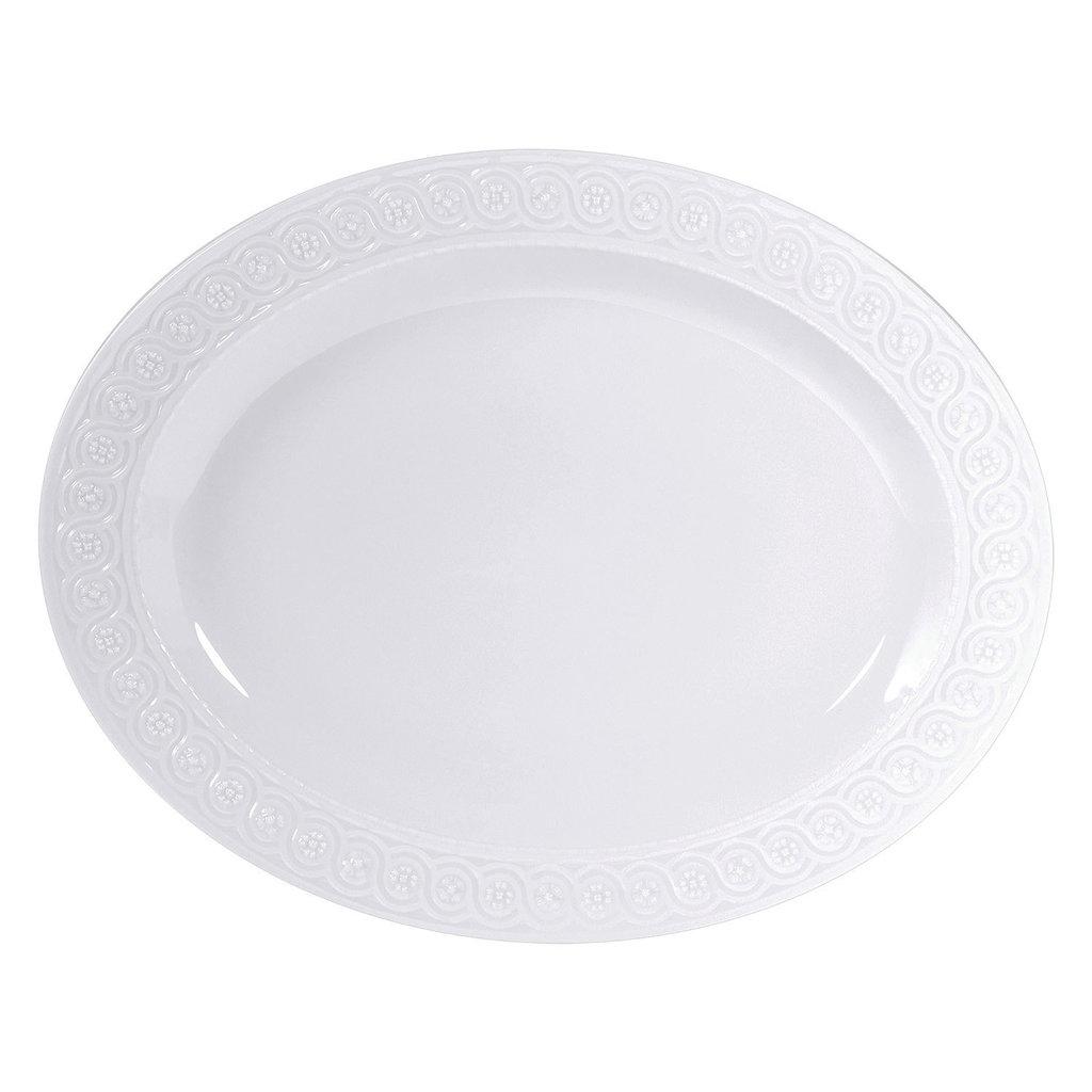 BERNARDAUD Louvre Oval Platter 15''