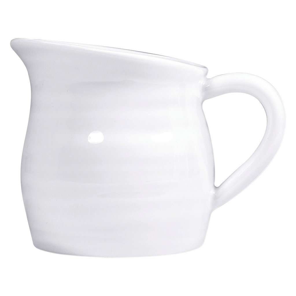 BERNARDAUD Origine White Creamer 2.7 Oz
