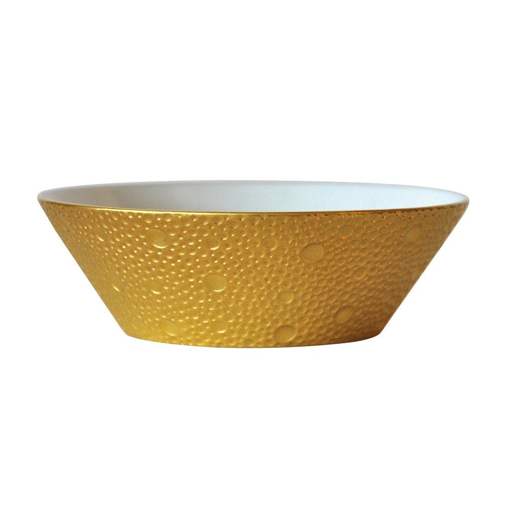 BERNARDAUD Ecume Gold Candy Dish