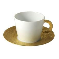 BERNARDAUD Ecume Gold Tea Saucer Only