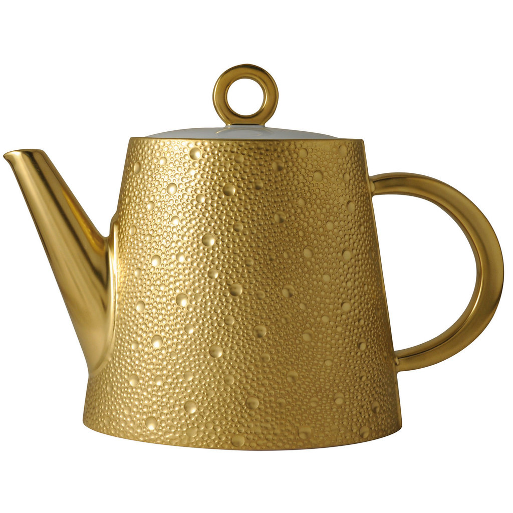BERNARDAUD Ecume Gold Hot Beverage Serveur