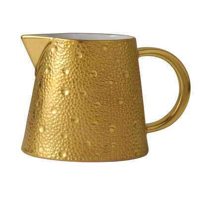 BERNARDAUD Ecume Gold Creamer