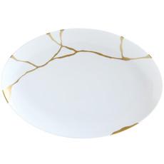 BERNARDAUD Kintsugi - Sarkis Oval Platter-15In