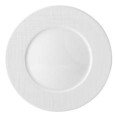 BERNARDAUD Organza White Service Plate 11.6''