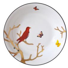 BERNARDAUD Aux Oiseaux Open Vegetable Bowl