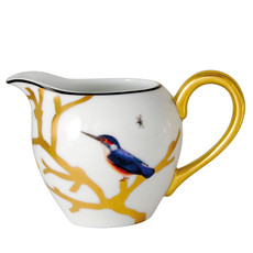 BERNARDAUD Aux Oiseaux Creamer (Boule Shape)