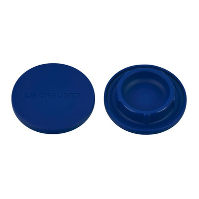 LE CREUSET Set Of 2 Silicone Mill Caps Blueberry