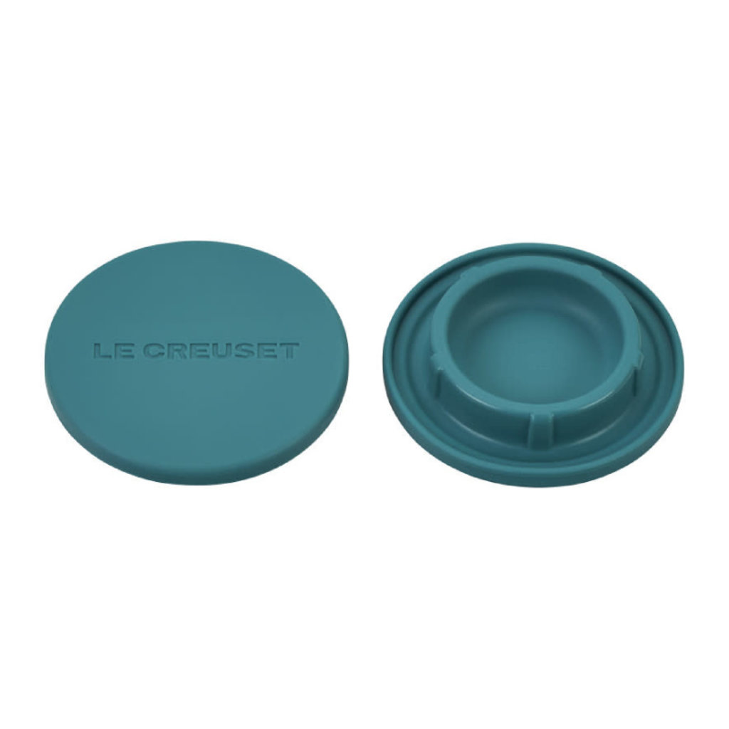 LE CREUSET Set Of 2 Silicone Mill Caps Caribbean