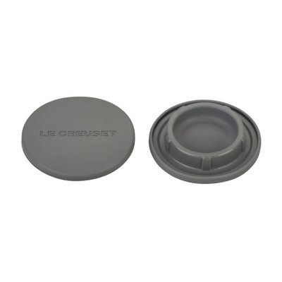 LE CREUSET Set Of 2 Silicone Mill Caps Oyster