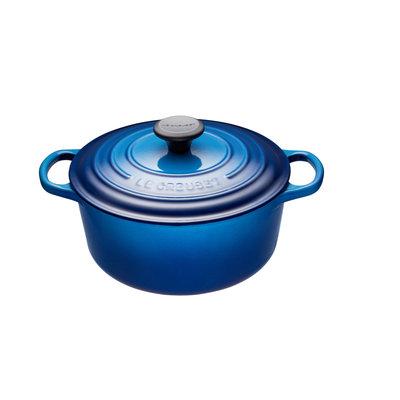 LE CREUSET Round Cocotte Blueberry 3.3 L