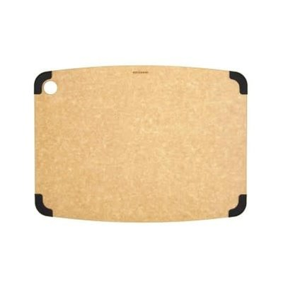 "Non-Slip Series Cutting Board Natural / Slate 14.5 X 11.25"""