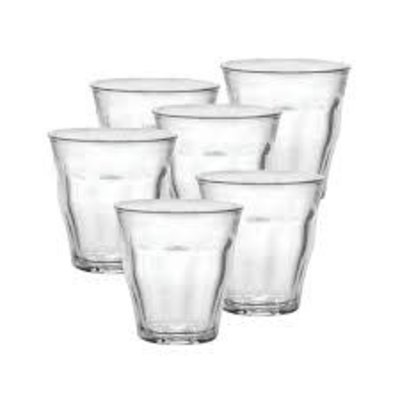 Picardie Clear Goblet Set/6 - 90 Ml