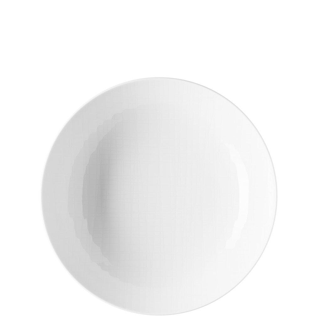 Mesh White Soup Plate 8 1/4'' - 32 Oz